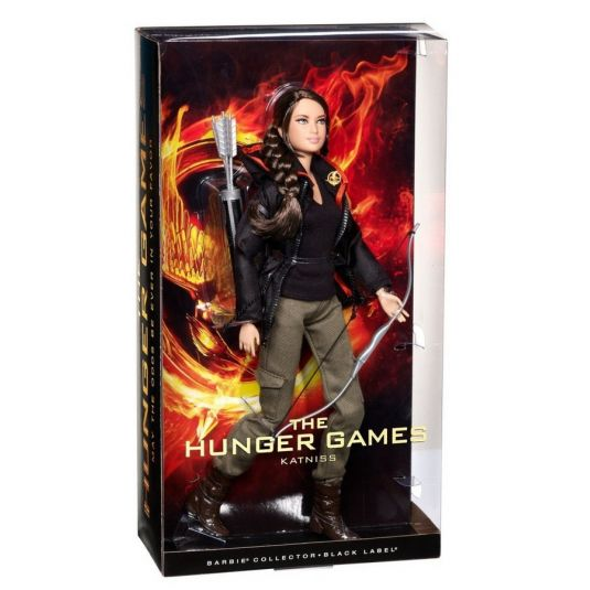 Barbie Collector - Katniss Everdeen -The Hunger Games  - Hobby Lobby CollectorStore