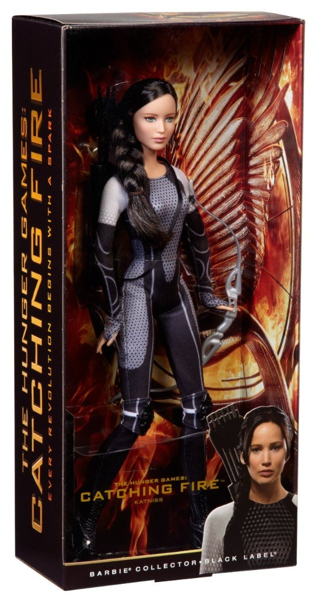 Barbie Collector - Katniss Everdeen -The Hunger Games - Catching Fire  - Hobby Lobby CollectorStore