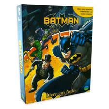Batman Livro Em Ação Com 12 Personagens + Cenário Interativo  - Hobby Lobby CollectorStore