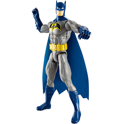 ... Boneco Liga da Justiça Batman Azul 30cm - Mattel - Hobby Lobby  CollectorStore ce089000b26