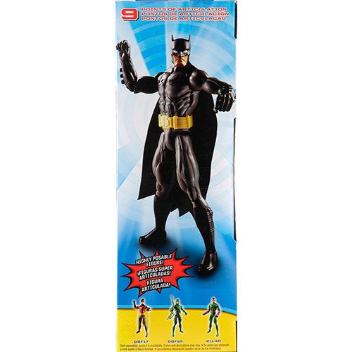Boneco Liga da Justiça Batman Preto 30 cm - Mattel  - Hobby Lobby CollectorStore