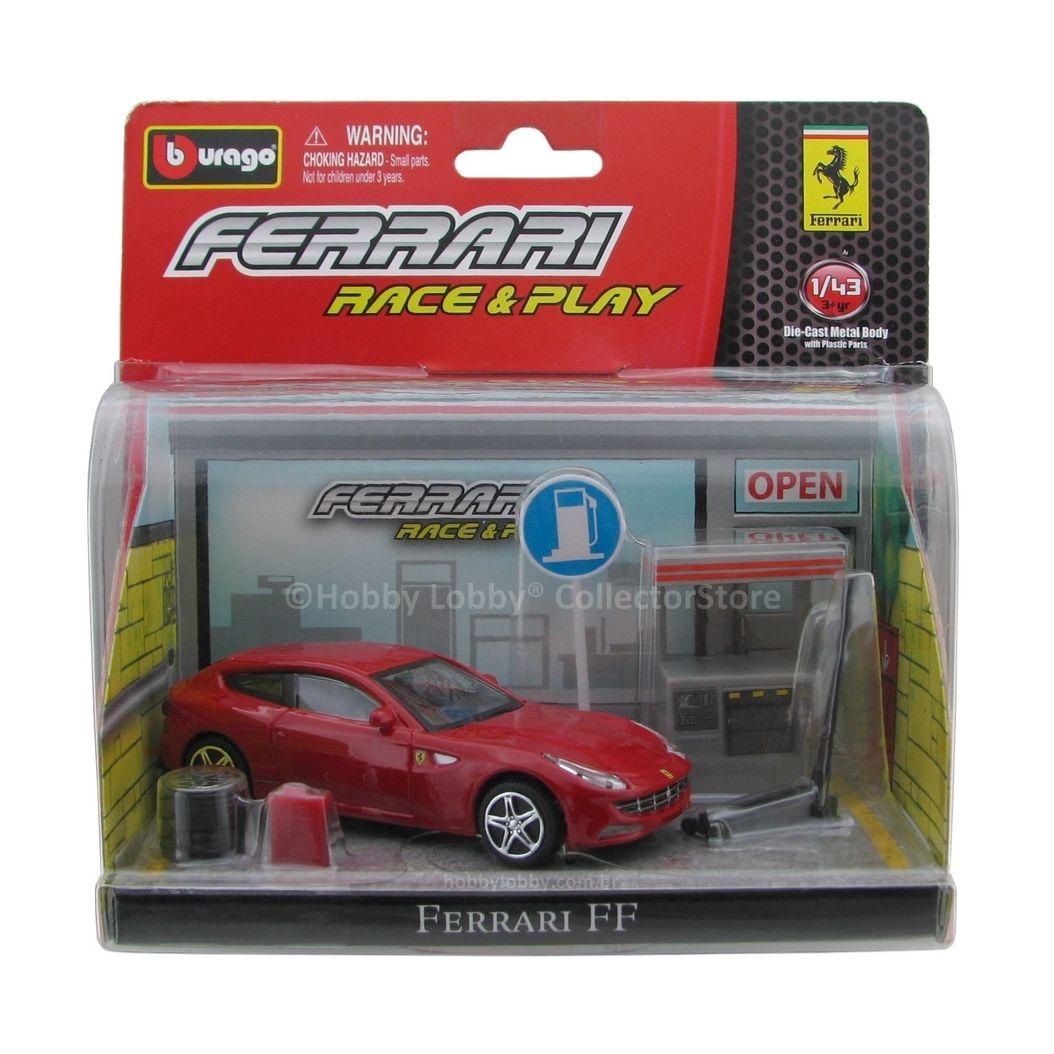 Burago - Ferrari Race & Play - Ferrari FF