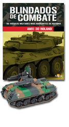 Altaya - Blindados de Combate - AMX30 Roland  - Hobby Lobby CollectorStore