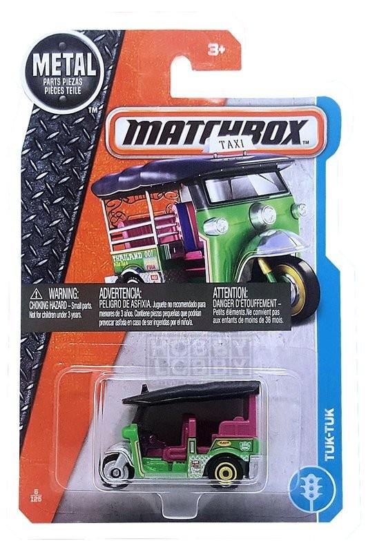 Matchbox - Coleção 2017 - Tuk-Tuk