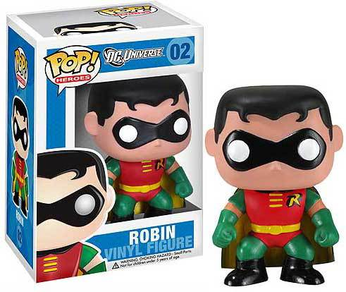 Funko POP - DC Universe - Robin  Figure #02