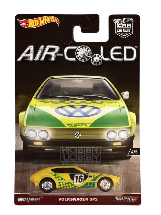 Hot Wheels - Air-Cooled - Vokswagen SP2  - Hobby Lobby CollectorStore