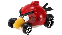 Hot Wheels - Coleção 2014 - ANGRY BIRDS - RED BIRD  - Hobby Lobby CollectorStore