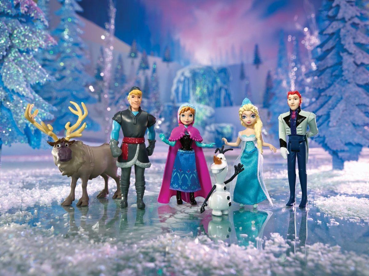 Disney Frozen - Playset 6 personagens do filme - Mattel  - Hobby Lobby CollectorStore