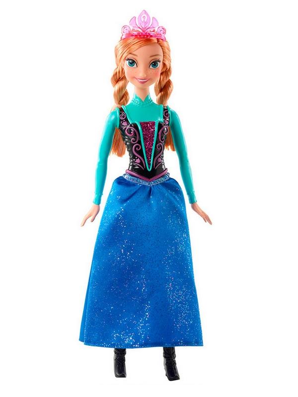 Disney Frozen - Princesa Anna Brilhante - Mattel