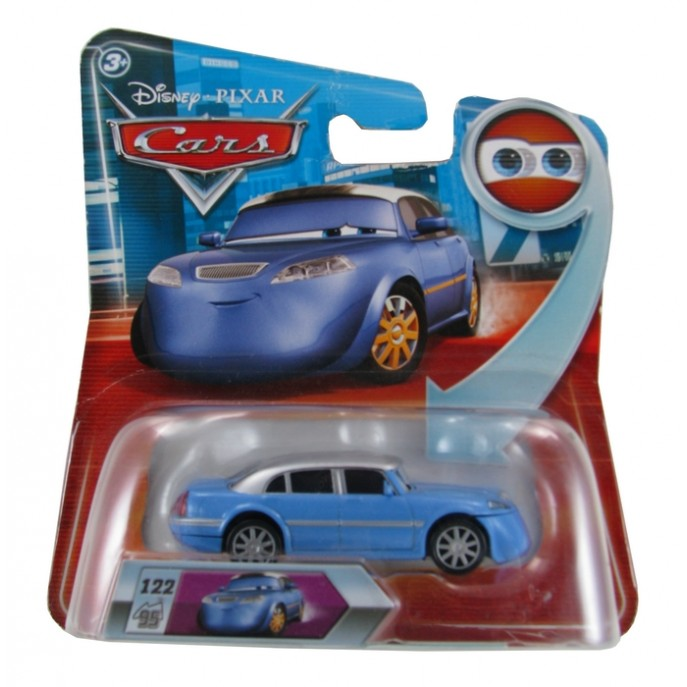 Disney Pixar - Cars - Jay Limo  - Hobby Lobby CollectorStore