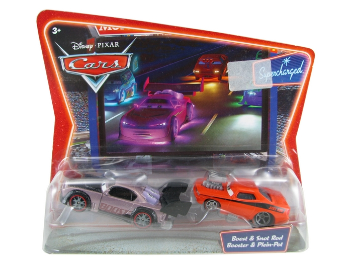 Disney Pixar - Cars - Boost & Snot Rod - Booster & Plain-Pot