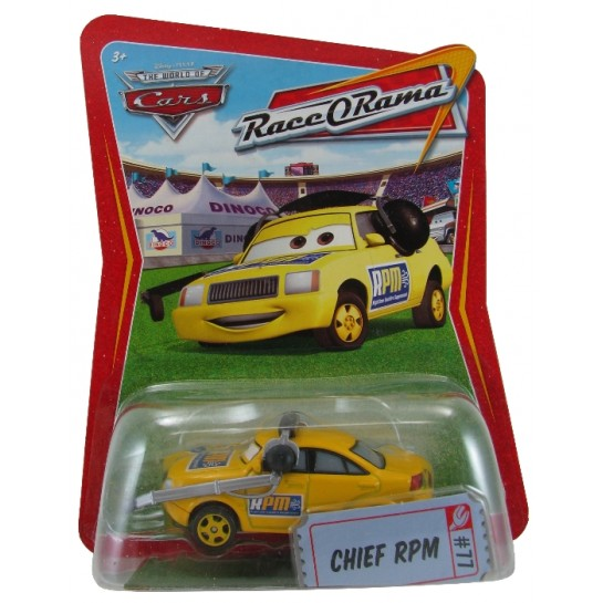 Disney Pixar - Cars - Chief RPM - Hobby Lobby CollectorStore