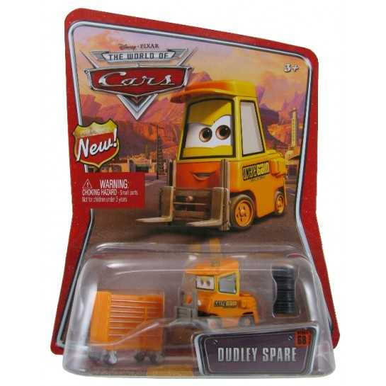 Disney Pixar - Cars - Dudley Spare  - Hobby Lobby CollectorStore