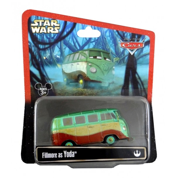 Disney Pixar - Cars - Star Wars - Fillmore as Yoda