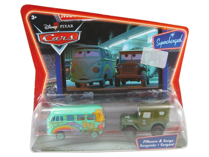 Disney Pixar - Cars - Fillmore & Sarge  - Hobby Lobby CollectorStore