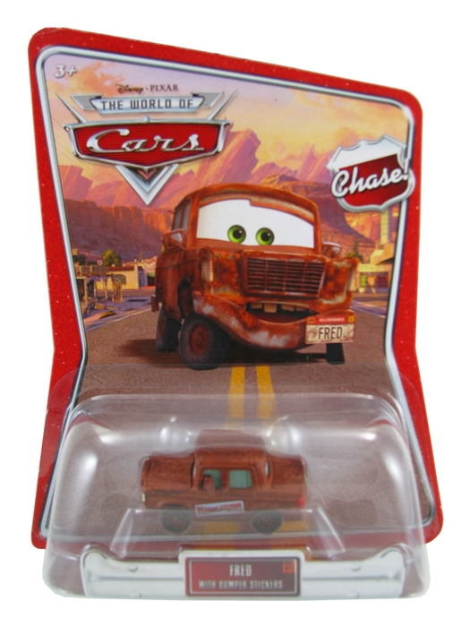 Disney Pixar - Cars - Fred with Bumper Stickers