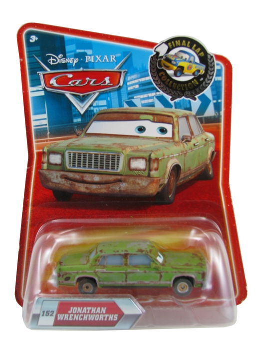 Disney Pixar - Cars - Jonathan Wrenchworths  - Hobby Lobby CollectorStore