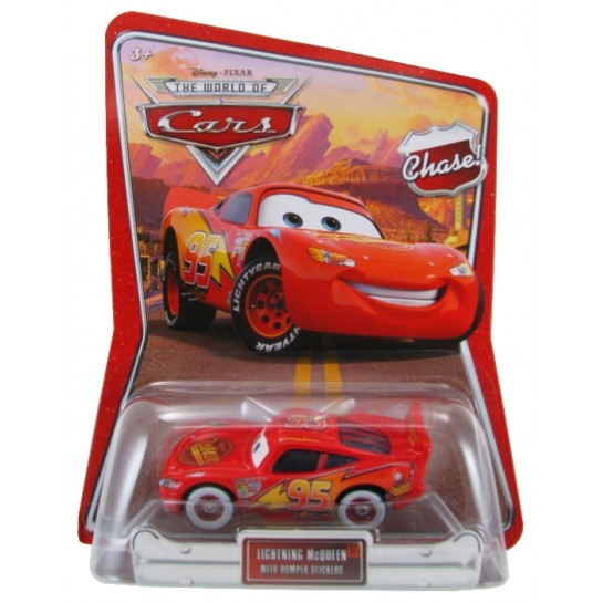 Disney Pixar - Cars - Lightning McQueen with Bumper Stickers