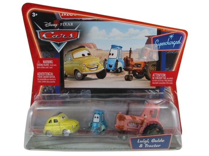 Disney Pixar - Cars - Luigi, Guido & Tractor