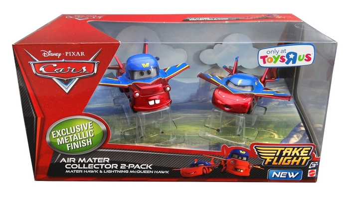Disney Pixar - Cars - Mater Hawk & Lightning McQueen Hawk