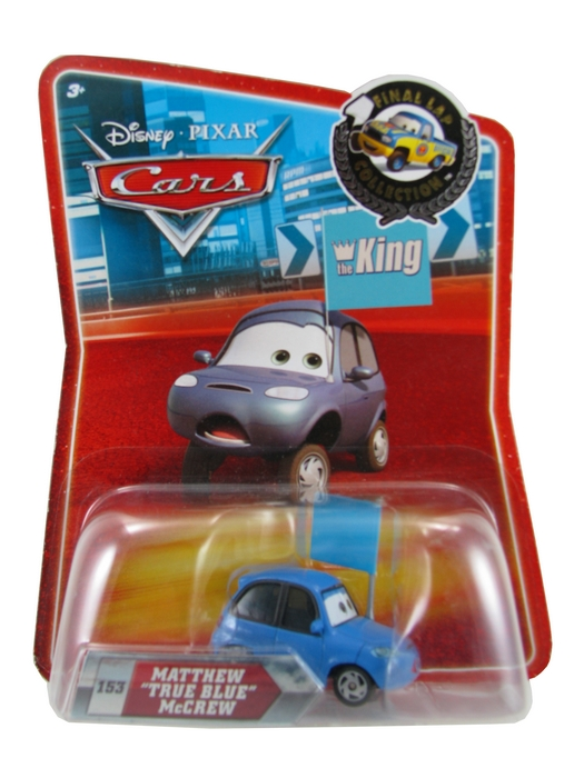 Disney Pixar - Cars - Matthew ´True Blue´ McCrew  - Hobby Lobby CollectorStore