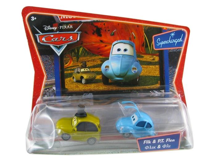 Disney Pixar - Cars - Movie Moments - Flik & P.T. Flea  - Hobby Lobby CollectorStore