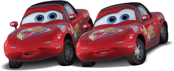 Disney Pixar - Cars - Movie Moments - Mia & Tia  - Hobby Lobby CollectorStore