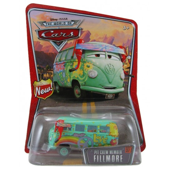 Disney Pixar - Cars - Pit Crew Member - Fillmore  - Hobby Lobby CollectorStore