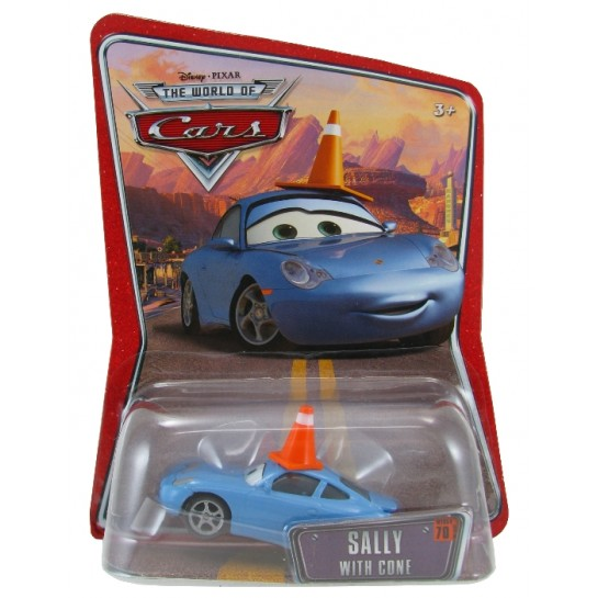 Disney Pixar - Cars - Sally with Cone