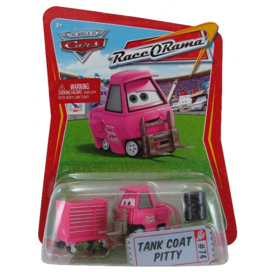 Disney Pixar - Cars - Tank Coat Pitty  - Hobby Lobby CollectorStore