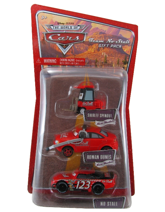 Disney Pixar - Cars - Team No Stall  - Hobby Lobby CollectorStore