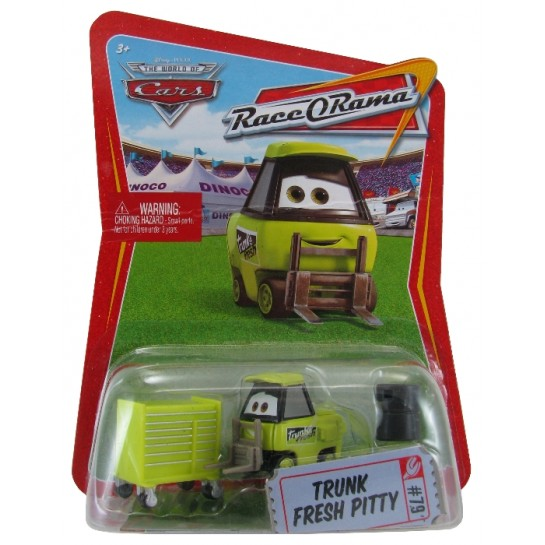 Disney Pixar - Cars - Trunk Fresh Pitty  - Hobby Lobby CollectorStore