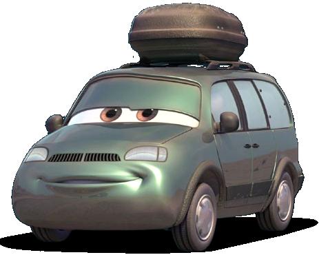 Disney Pixar - Cars - Van  - Hobby Lobby CollectorStore