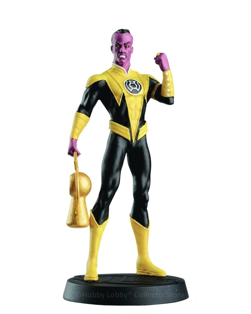 Eaglemoss - DC Comics - Sinestro  - Hobby Lobby CollectorStore