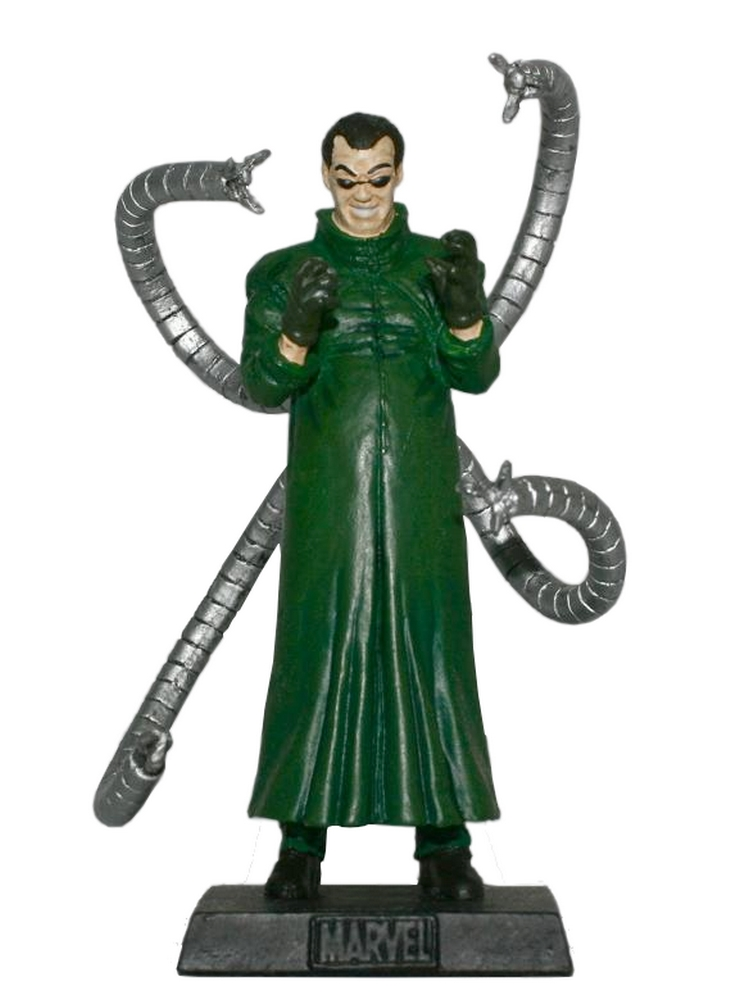 Eaglemoss - Marvel - Doutor Octopus  - Hobby Lobby CollectorStore
