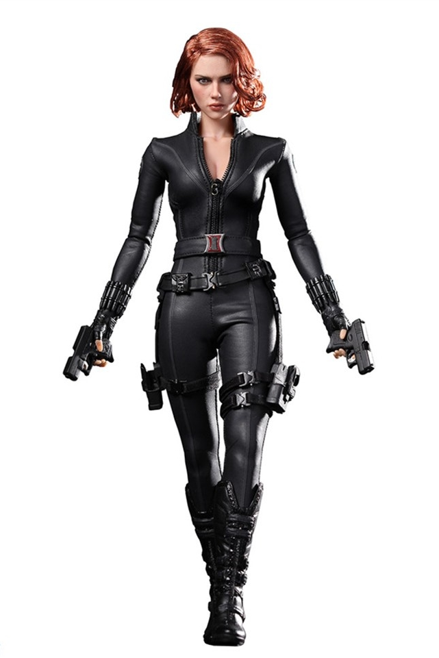 Hot Toys - The Avengers - Black Widow - Natasha Romanoff