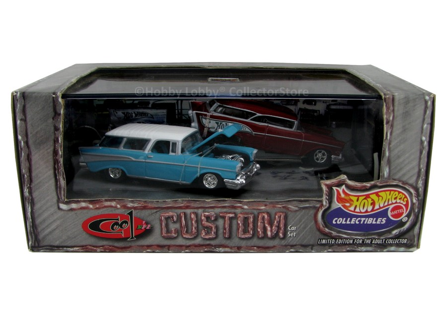 Hot Wheels 100% - Collector Set - Cool ´N Custom I
