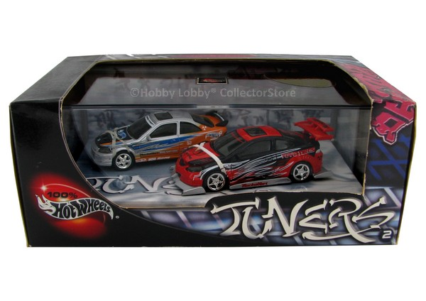 Hot Wheels 100% - Collector Set - Tuners 2