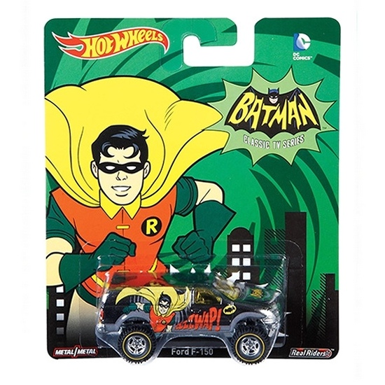 Hot Wheels - 2015 Pop Culture - DC Comics - Ford F-150  - Hobby Lobby CollectorStore