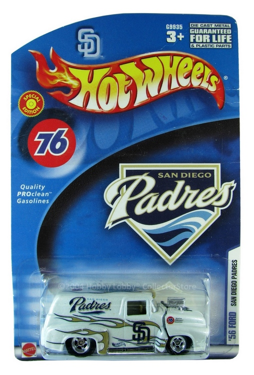 Hot Wheels - ´56 Ford - San Diego Padres  - Hobby Lobby CollectorStore