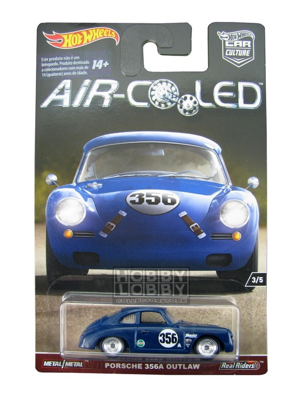 Hot Wheels - Air-Cooled - Porsche 356A Outlaw  - Hobby Lobby CollectorStore