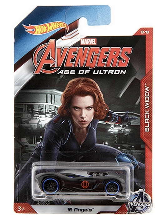 Hot Wheels - Avengers Age of Ultron - Black Widow