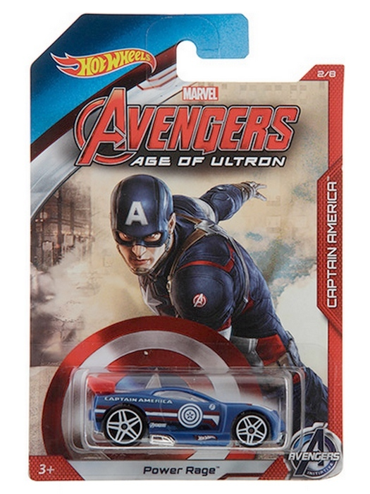 Hot Wheels - Avengers Age of Ultron - Captain America