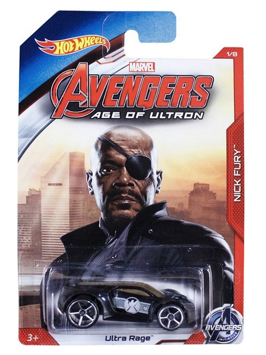 Hot Wheels - Avengers Age of Ultron  - Nick Fury  - Hobby Lobby CollectorStore