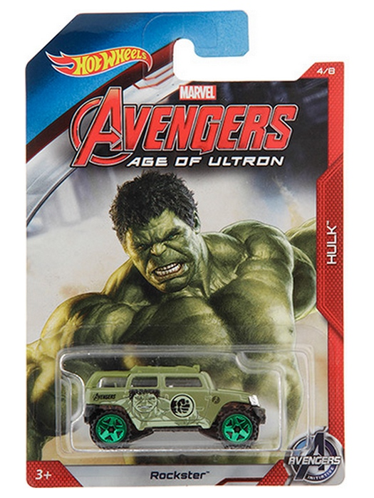 Hot Wheels - Avengers Age of Ultron - Hulk  - Hobby Lobby CollectorStore