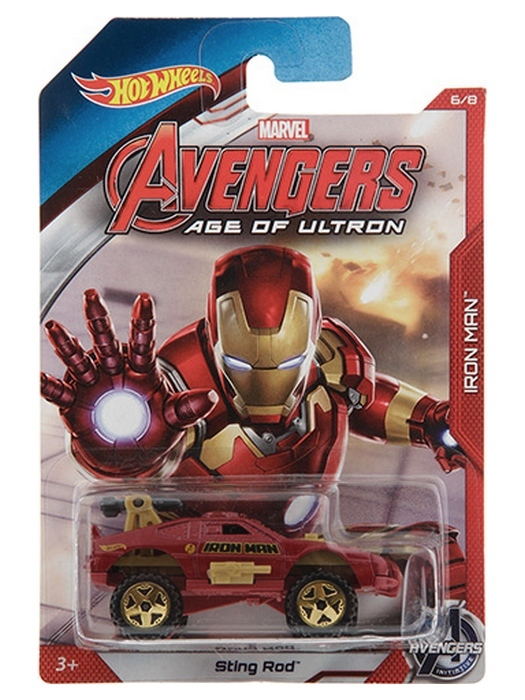 Hot Wheels - Avengers Age of Ultron - Iron Man  - Hobby Lobby CollectorStore