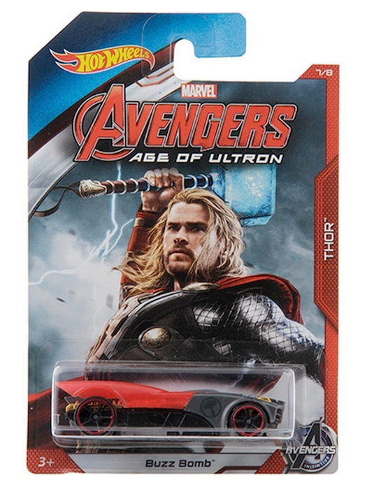 Hot Wheels - Avengers Age of Ultron - Thor  - Hobby Lobby CollectorStore