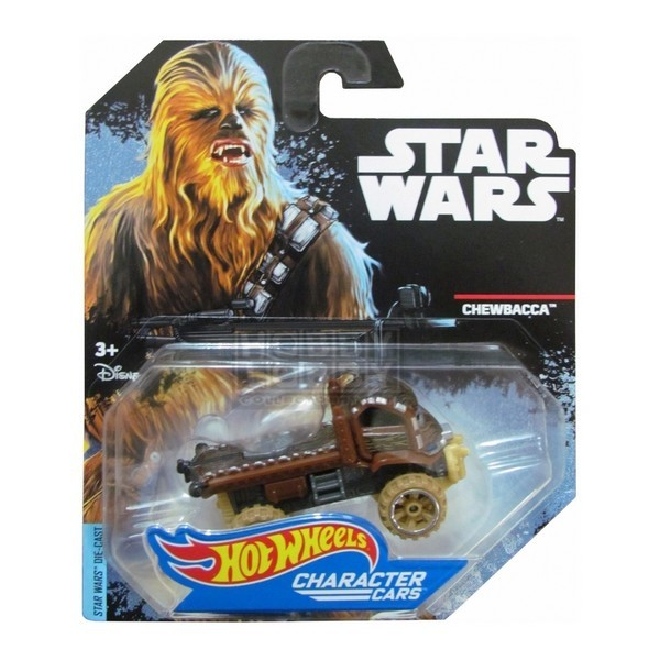Hot Wheels - Caracter Cars - Chewbacca  - Hobby Lobby CollectorStore