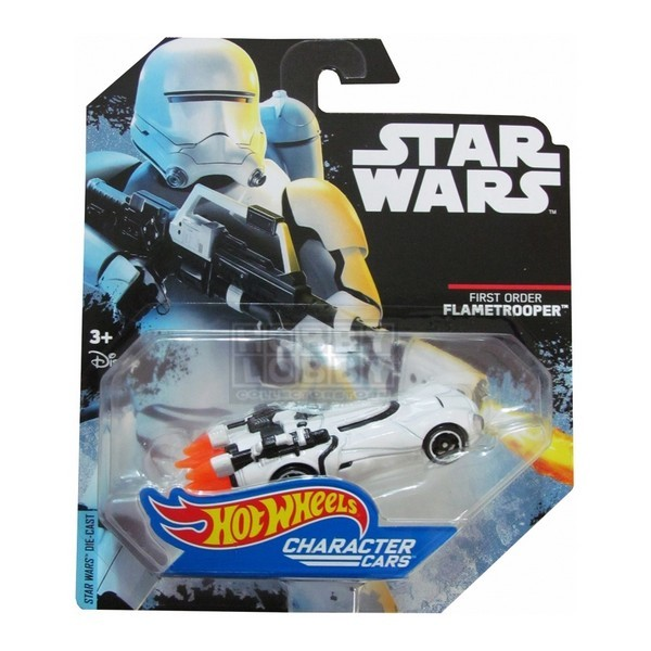 Hot Wheels - Caracter Cars -Flametrooper (First Order)  - Hobby Lobby CollectorStore