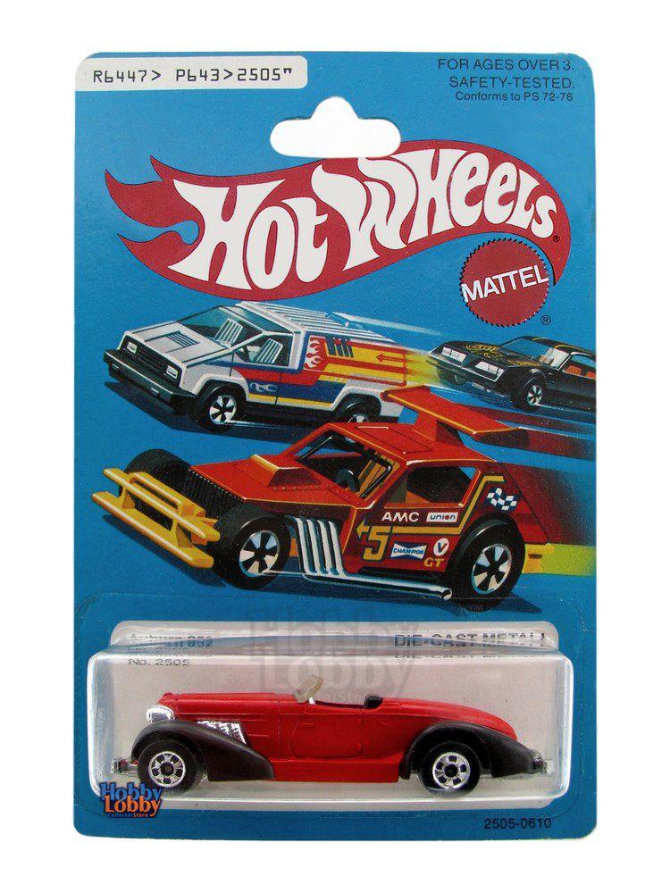 Hot Wheels - Coleção 1979 - Auburn 652